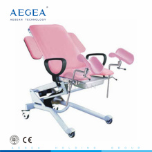 AG-S102D Surgical obstetric therapy electric motorized gynecologist chair for sale